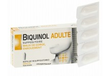 BIQUINOL ADULTE BOITE 10 SUPPOSITOIRES