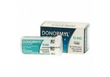 DONORMYL 15MG BOITE 10 COMPRIMES PELLICULES SECABLES