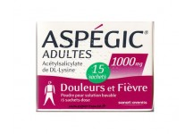 ASPEGIC 1000MG ADULTES 15 SACHETS