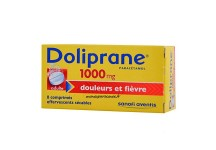 DOLIPRANE 1000MG ADULTE 8 COMPRIMES EFFERVESCENTS