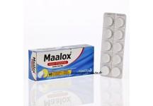 MAALOX MAUX D'ESTOMAC SANS SUCRE BTE 40 CPR