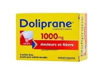 DOLIPRANE 1000MG ADULTE BOITE DE 8 SACHETS