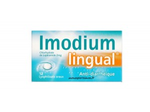 IMODIUM LINGUAL ANTI-DIARRHEIQUE 12 CPR