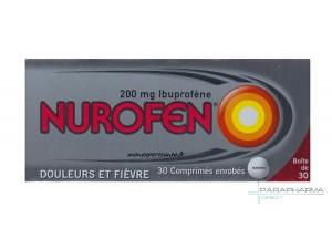 NUROFEN 200MG DOULEURS ET FIEVRE 30 CPR