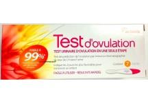TEST D'OVULATION URINAIRE ACTAVIS BOITE DE 7