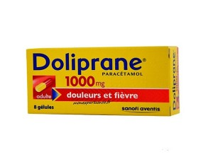 DOLIPRANE 1000MG ADULTE BOITE DE 8 GELULES
