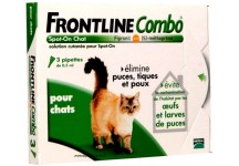 FRONTLINE COMBO SPOT-ON CHAT BOITE DE 3 PIPETTES