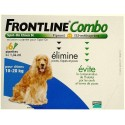 FRONTLINE COMBO SPOT-ON CHIEN 10 A 20KG BTE 4 PIPETTES