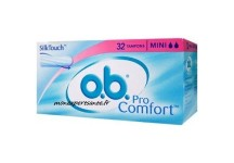 OB TAMPON MINI SANS APPLICATEUR BOITE DE 32