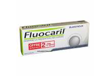 FLUOCARIL DENTIFRICE BLANCHEUR lot de 2x75ml