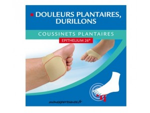 EPITACT COUSSINETS PLANTAIRES A L' EPITHELIUM 26- 1 PAIRE Taille S