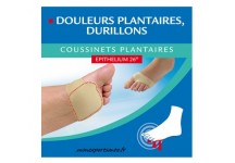 EPITACT COUSSINETS PLANTAIRE A L' EPITHELIUM 26- 1 PAIRE Taille M
