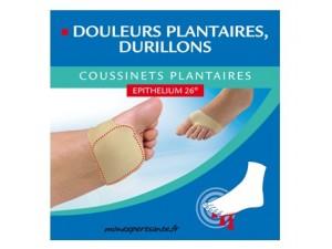 EPITACT COUSSINETS PLANTAIRE A L' EPITHELIUM 26- 1 PAIRE Taille M