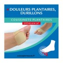 EPITACT COUSSINETS PLANTAIRE TAILLE M - 1 PAIRE
