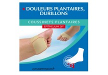EPITACT COUSSINETS PLANTAIRE A L' EPITHELIUM 26- 1 PAIRE Taille L