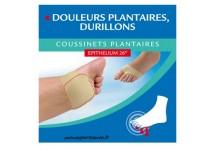 EPITACT COUSSINETS PLANTAIRE A L' EPITHELIUM 26- 1 PAIRE Taille L