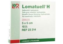 TULLE GRAS LOMATUELL 5 X 5 CM BOITE DE 10