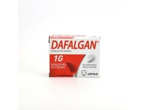 DAFALGAN 1G BOITE 8 COMPRIMES PELLICULES