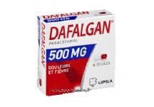 DAFALGAN 500MG BOITE DE 16 GELULES