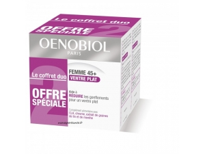 OENOBIOL FEMME 45+ VENTRE PLAT COFFRET DUO