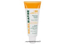 SOLEILBIAFINE EMULSION SOLAIRE VISAGE FPS 50 TUBE 50ML