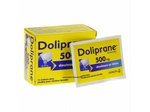 DOLIPRANE 500MG BOITE 12 SACHETS