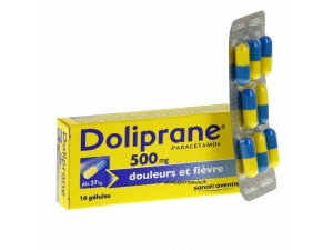 DOLIPRANE 500MG BOITE 16 GELULES
