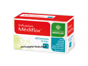 MEDIFLOR N°4 RETENTION D'EAU INFUSION 24 SACHETS
