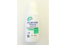 EAU OXYGENEE 10 VOLUMES COOPER 125ML