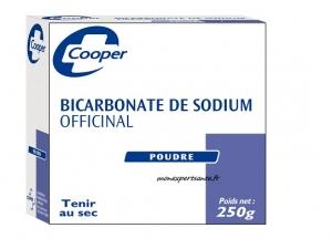 BICARBONATE DE SODIUM POUDRE COOPER 250GR - Pharmacie en ligne