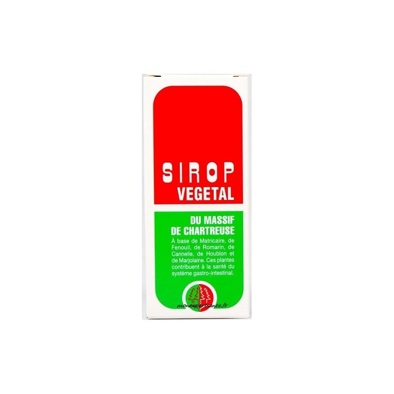 SIROP VEGETAL DU MASSIF DE LA CHARTREUSE FLACON 200ML - En