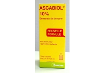 ASCABIOL CONTRE LA GALE FLACON DE 125ML
