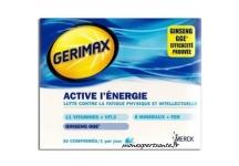 GERIMAX ACTIVE L'ENERGIE BOITE 30 COMPRIMES
