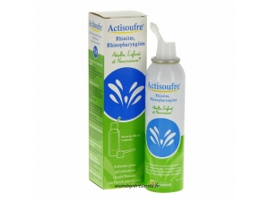 ACTISOUFRE SOLUTION BUCCALE OU NASALE FLACON 100ML