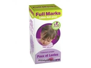 FULL MARKS Lotion anti poux + peigne