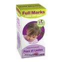 FULL MARKS Lotion anti poux 100ml + peigne