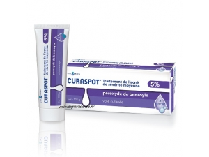 CURASPOT TRAITEMENT DE L'ACNE TUBE DE 100GR