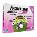 FRONTLINE TRI-ACT 2-5 KG CHIENS 3 PIPETTES