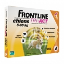 FRONTLINE TRI-ACT 5-10KG CHIENS 3 PIPETTES