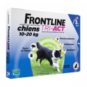 FRONTLINE TRI-ACT 10-20 KG CHIENS 3 PIPETTES