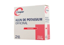 ALUN DE POTASSIUM COOPER 250GR