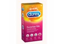 DUREX SURPRISE ME BOITE 12 PRESERVATIFS