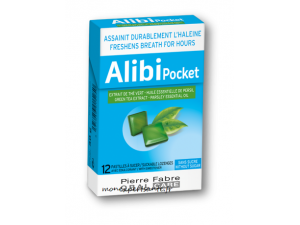 ALIBI POCKET BOITE 12 PASTILLES