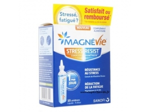 MAGNEVIE STRESS RESIT AU RHODIOLA 15 UNIDOSES
