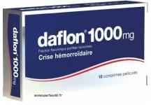 DAFLON 1000MG BOITE 18 COMPRIMES