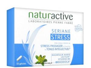 SERIANE STRESS BOITE 30 GELULES NATURACTIVE