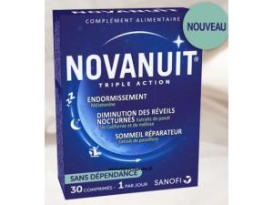 NOVANUIT SOMMEIL BOITE 30 GELULES