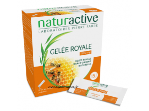 GELEE ROYALE NATURACTIVE BOITE 15 STICKS