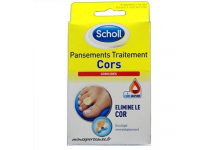 SCHOLL PANSEMENTS TRAITEMENT CORS