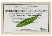 FEUILLE DE SAULE 40G/100G EMPLÂTRE GILBERT